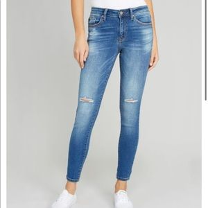 KANCAN Mid Rise Skinny Jeans